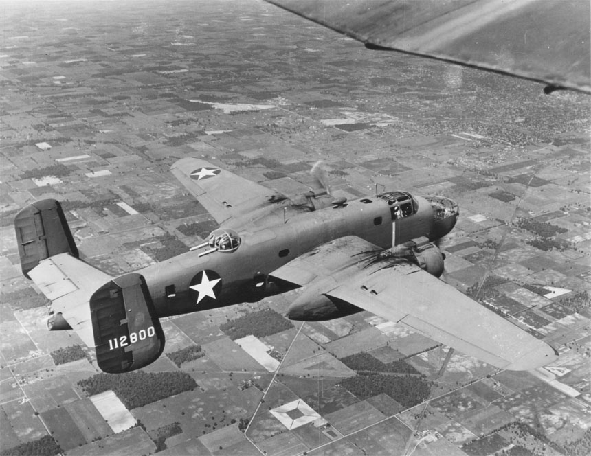 North American B 25C Mitchell 00910460 178