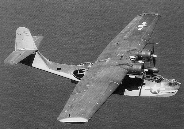 Catalina PBY view from above