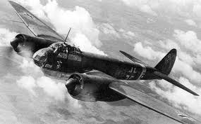 Junkers JU 88 in flight