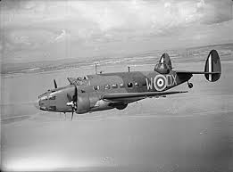 Lockheed Hudson RAF in flight