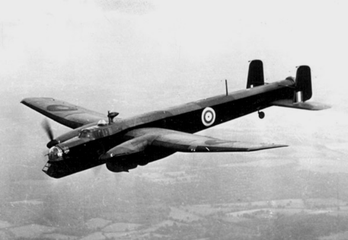 Armstrong Whitworth Whitley in flight c1940